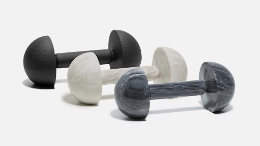 Tingest designs home gym equipment to look like objets d'art
