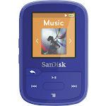 SanDisk - Clip Sport Plus 16GB* MP3 Player - Blue