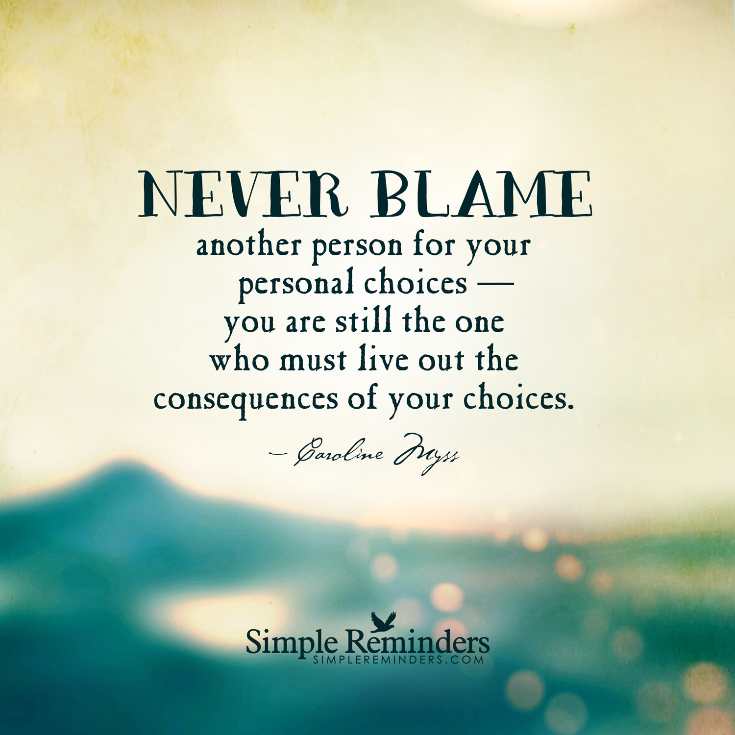 Quotes About Blame And Death 18 Quotes