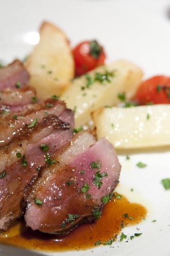 Arrosto d'anatra con Salsa di Agurme, Ristorante Carmine, Ushigome