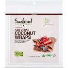Sunfood Cinnamon Raw Vegan Coconut Wraps