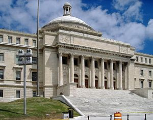 South side view of the Puerto Rico State Legis...