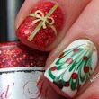 Nail Art - Christmas and Winter Holidays on Pinterest | Nail Art Galleries, Christmas Nail Art and Christmas Nails