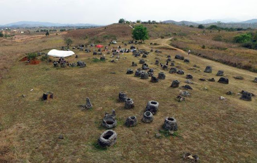 Laos' Plain of Jars recreated in virtual reality