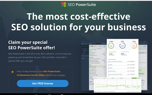 SEO PowerSuite Full Professional License 14 Days Free Trial - CyberNaira