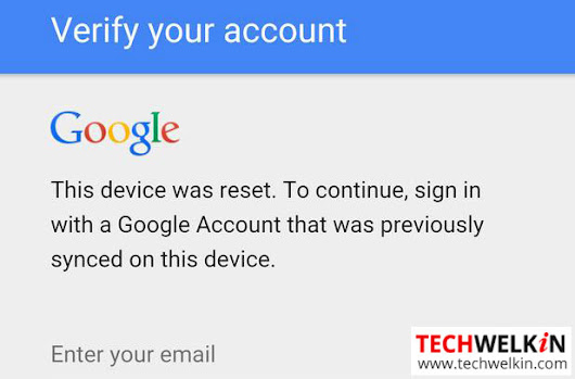 [Bypass] Device was reset. Sign in with Google Account that was Previously Synced