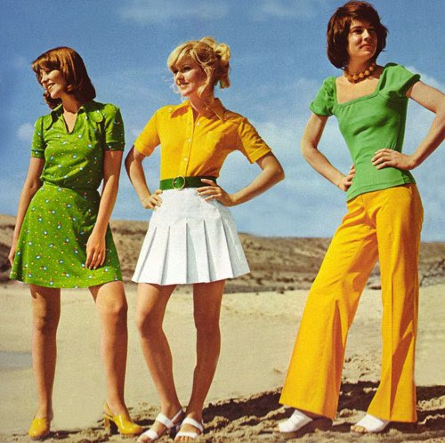 Moda feminina nos últimos 60 anos