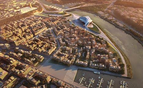 Grand Theatre by Zaha Hadid Architects