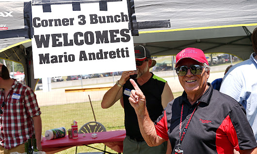 Andretti takes up invitation to lunch from Corner 3 Bunch