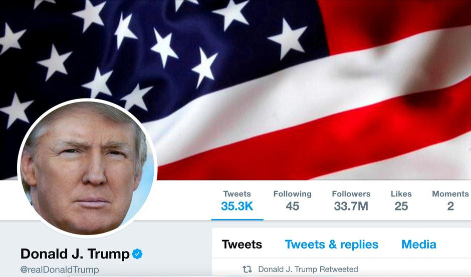 Image result for Trump's twitter account deactivated by twitter employee