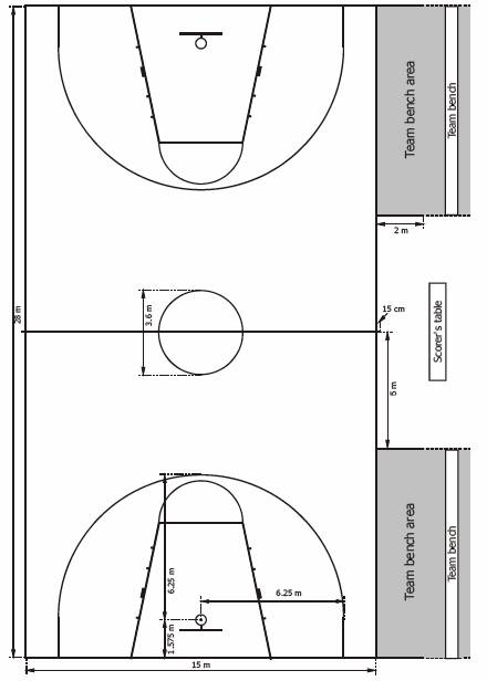 FIBA Full Court - Click to view full specs