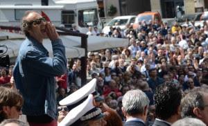 """Porto, tensione e urla in piazza """"Sacrificati per la produttività"""""""