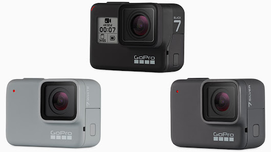 GoPro HERO7 Black, Silver and White Action Cameras Officially Announced