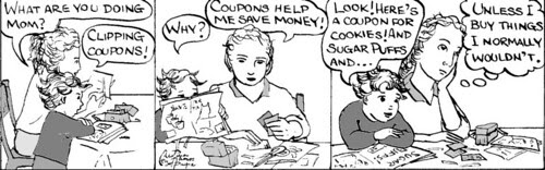 Home Spun comic strip #152
