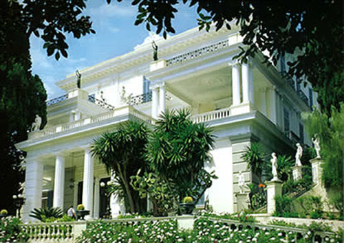px achilleion El Palacio de Achillion, la residencia de Sissí en Corfú