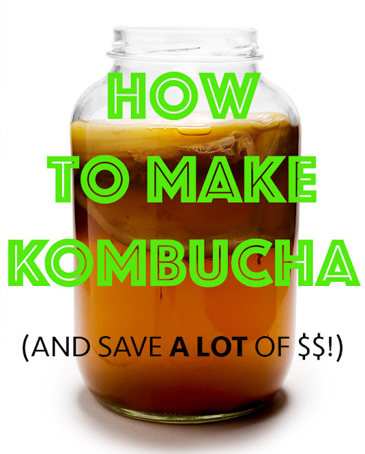 THIS Is How To Make Kombucha...and Save a LOT of Money! $$