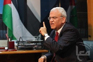 Chief Palestinian negotiator Saeb Erekat. Photo: Wikipedia.