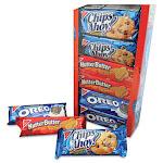 Variety Pack Cookies, Assorted, 1.75 oz Packs, 12 Packs/Box 04738