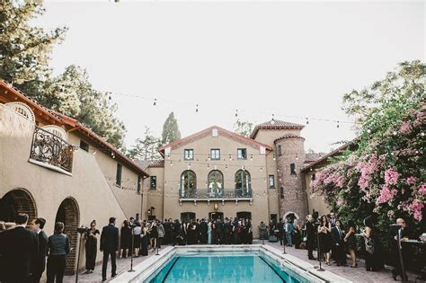 Paramour Estate Wedding, Cocktail Hour around the Paramour