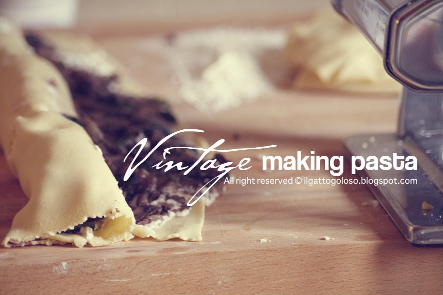 making pasta - girelle style