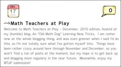 http://oldmathdognewtricks.blogspot.com/
