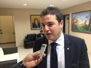 Deputado Federal Gabriel Guimarães (PMDB-MG) (Foto: John Pacheco/G1)