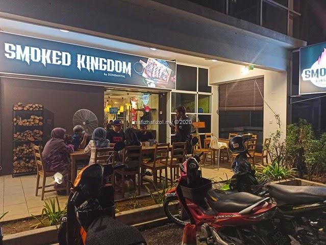 Dinner di Restoran Smoked Kingdom by Dondaniyal, Ayer8 PUTRAJAYA