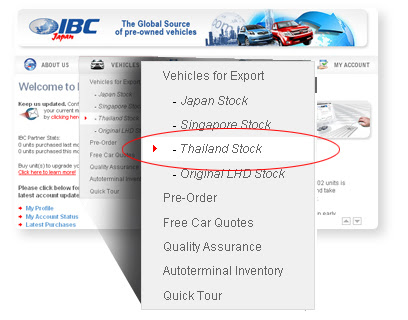 IBC Thailand Delivers Quality Used Vehicles to Your Destination
