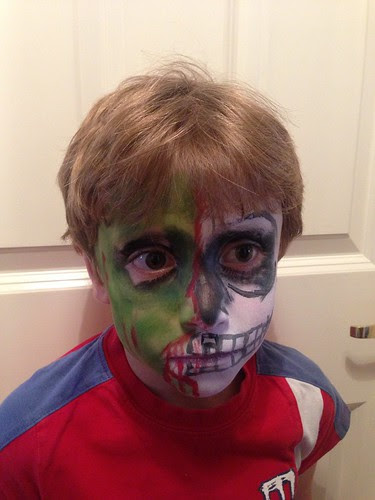Result of first attempt at predlet 2.0 facepainting
