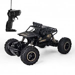 LBLA RC Truck 1/16 Scale Rechargeable Remote Control Car Crawler Off Road Monster RC Crawlers Toy RC Car 2.4 GHz 4WD for Adults & Kids