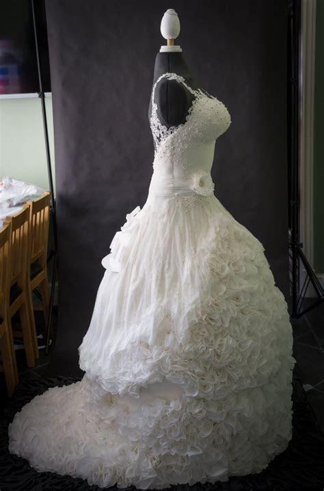 Weddible Dress wedding cake created by Sylvia Elba, Yvette