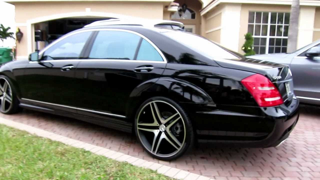 """2013 Mercedes Benz S550 on 22"""" Rims by Advanced Detailing ..."""