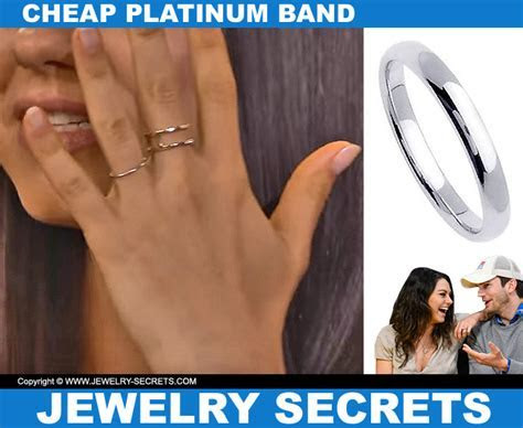 MILA AND ASHTON?S CHEAP WEDDING BANDS ? Jewelry Secrets
