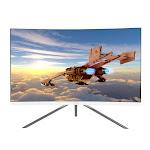 Viotek GN27DW 27-inch Curved Gaming Monitor 1440p 144Hz Samsung VA Panel(White)