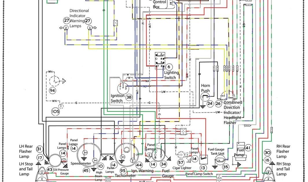 1965 Austin Healey Wiring Diagram