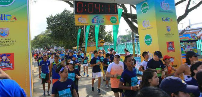 12.000 caleños correrán la Media Maratón de Cali este domingo 7 de junio