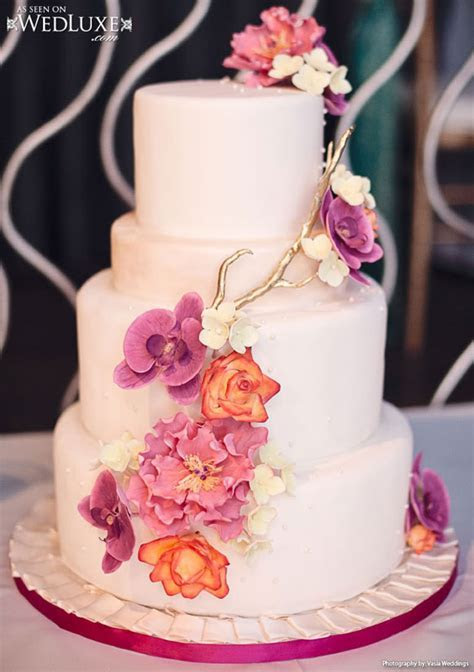 Luxury Wedding Cakes   Weddings Romantique