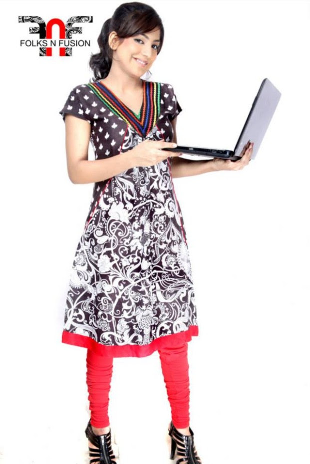 Folks N Fusion Tops-Kurti and Tights Fashion for Girls-Womens4