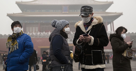 Climate change may be intensifying China's smog crisis