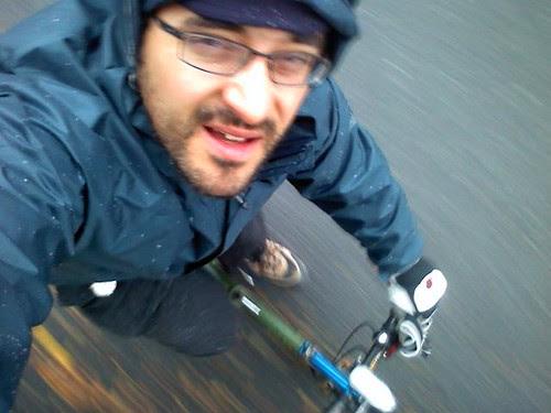 Winter bike back in service