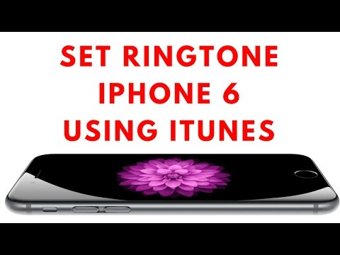 How to Set Ringtone on iPhone 6 using iTunes