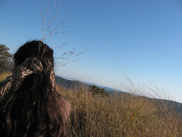 Sara Touching Grasses 3