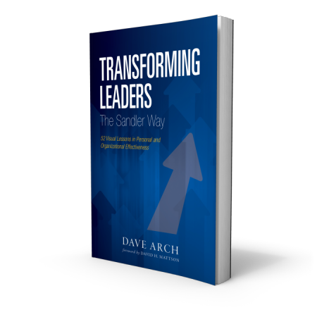 Transforming Leaders The Sandler Way | Sandler Training Book