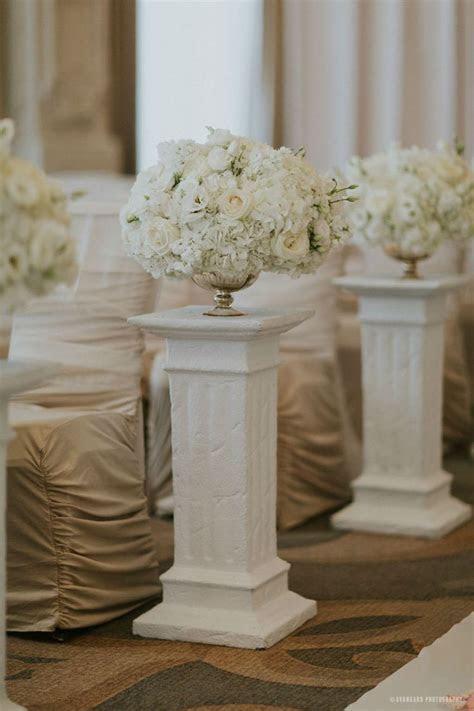Best 25  Wedding columns ideas on Pinterest   Back drop