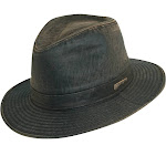 Dorfman Pacific Men's Indiana Jones Weathered Cotton Hat