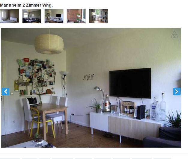 Mannheim 2 zimmer whg for Zimmer 7 mannheim