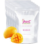 Mango Frozen Yogurt Pre Mix One Box (12kg/26.45lb) - Yogurt Powder Factory