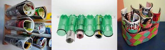 7 ιδέες για δημιουργίες με πλαστικά μπουκάλια