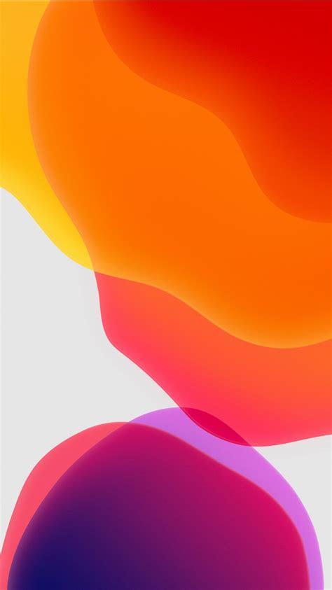 ios  ipados orange wallpapers hd wallpapers id