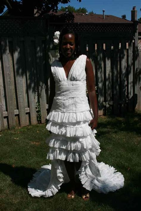 The 2007 Toilet Paper Wedding Dress Contest